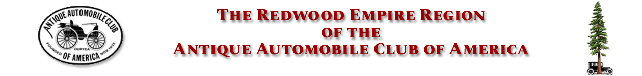 Redwood Empire Region AACA